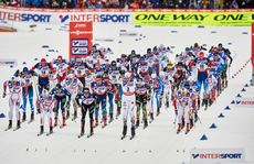 01.03.2015, Falun, Sweden (SWE): start- FIS nordic world ski championships, cross-country, 50km men, Falun (SWE). www.nordicfocus.com. © NordicFocus. Every downloaded picture is fee-liable.