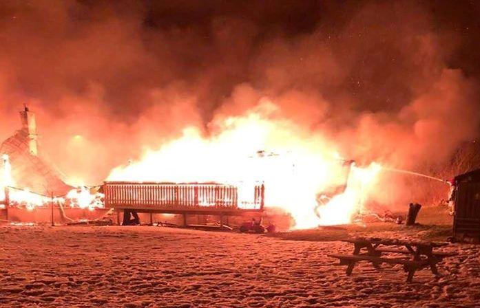 Bilde av brann