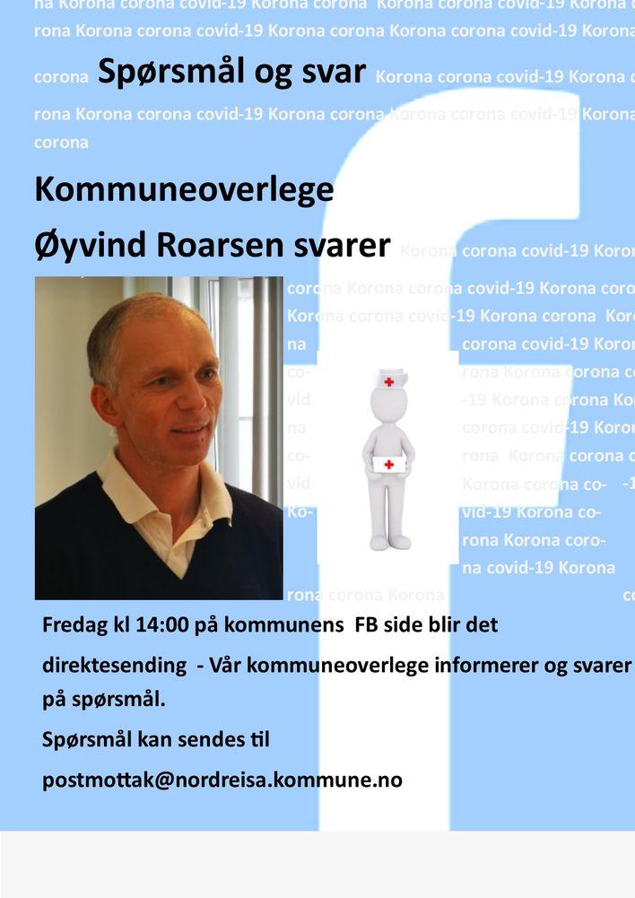 Øyvind Roarsen fredag