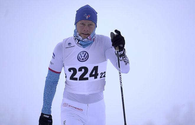 EIRIK ASDØL hade tänkt att åka i ett dygn, men han fick ge sig tidigare. Dock grejade han 376 km fram och tillbaka på en 3,75 km lång bana. Foto/rights: TOM-WILLIAM LINDSTRÖM/kekstock.com