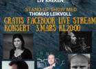 Plakat Gullrekka live-stream