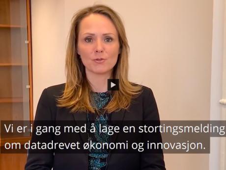 Linda  Hofstad Helleland datadrevet innovasjon