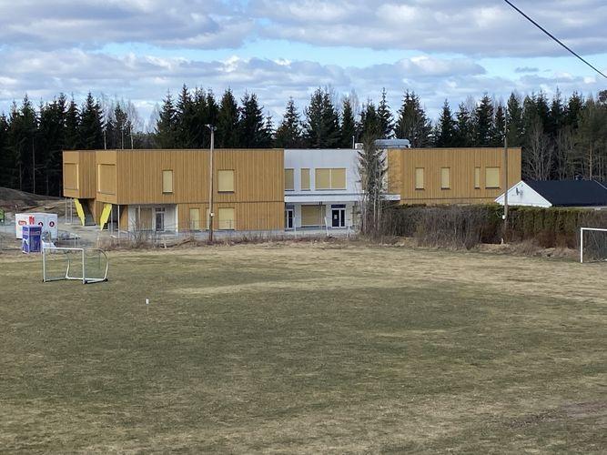 Barnehagen sett fra øst. Foto: Jostein Ådalen/Ås kommune.