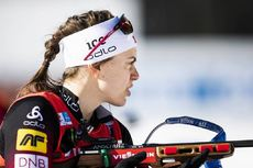 22.02.2020, Antholz, Italy (ITA):Synnoeve Solemdal (NOR) - IBU World Championships Biathlon, relay women, Antholz (ITA). www.nordicfocus.com. © Modica/NordicFocus. Every downloaded picture is fee-liable.