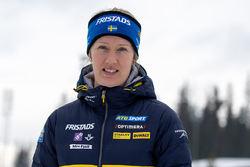 ANNA-MARIA NILSSON blir sportchef och ansvarig för skidskyttelandslagen. Hon känner verksamheten mycket väl. Foto: SKIDSKYTTEFÖRBUNDET