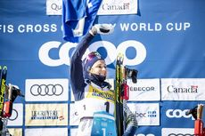 24.03.2019, Quebec, Canada (CAN):Stina Nilsson (SWE) - FIS world cup cross-country, pursuit women, Quebec (CAN). www.nordicfocus.com. © Modica/NordicFocus. Every downloaded picture is fee-liable.