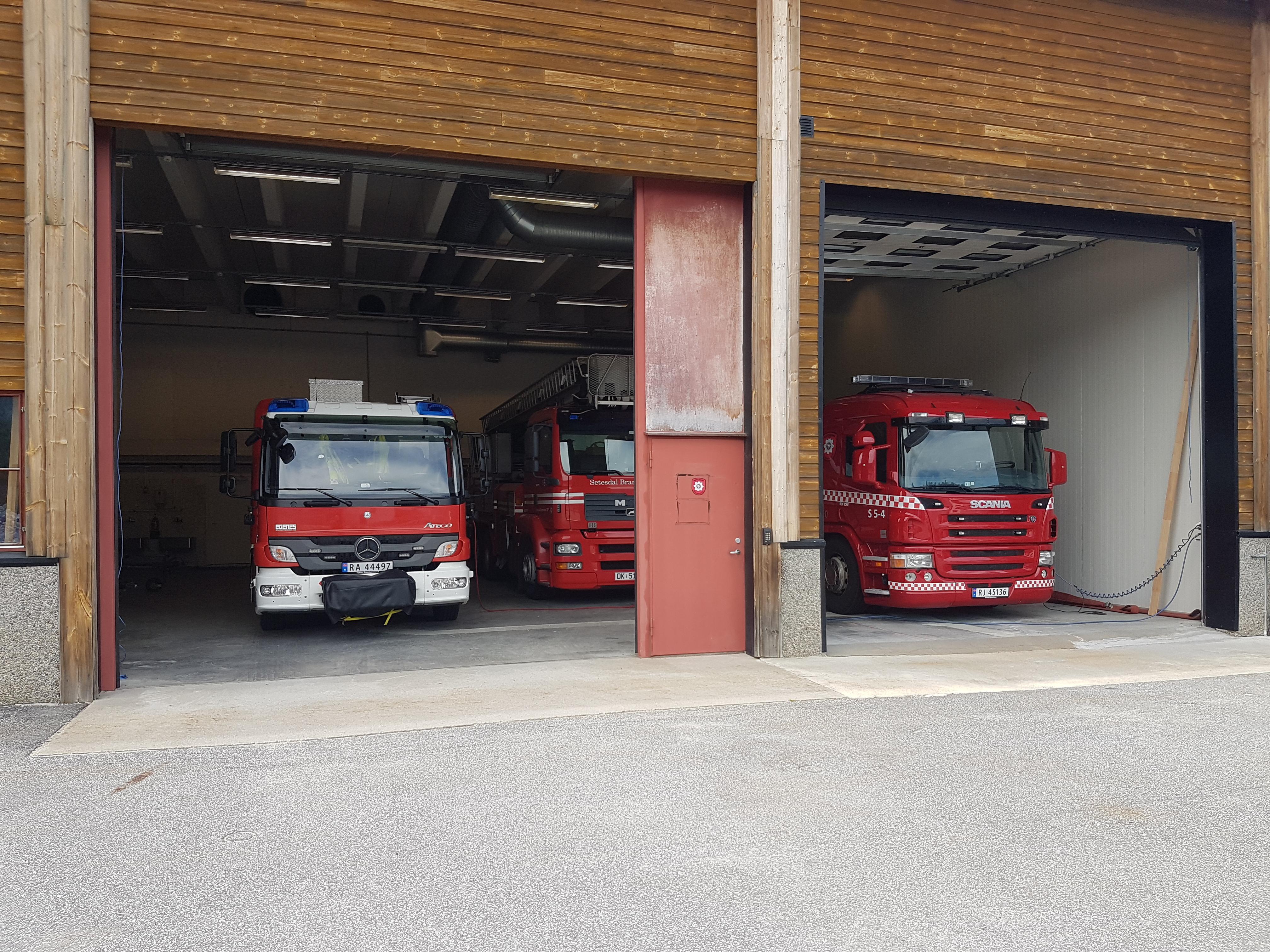 S5 Bykle brannstasjon