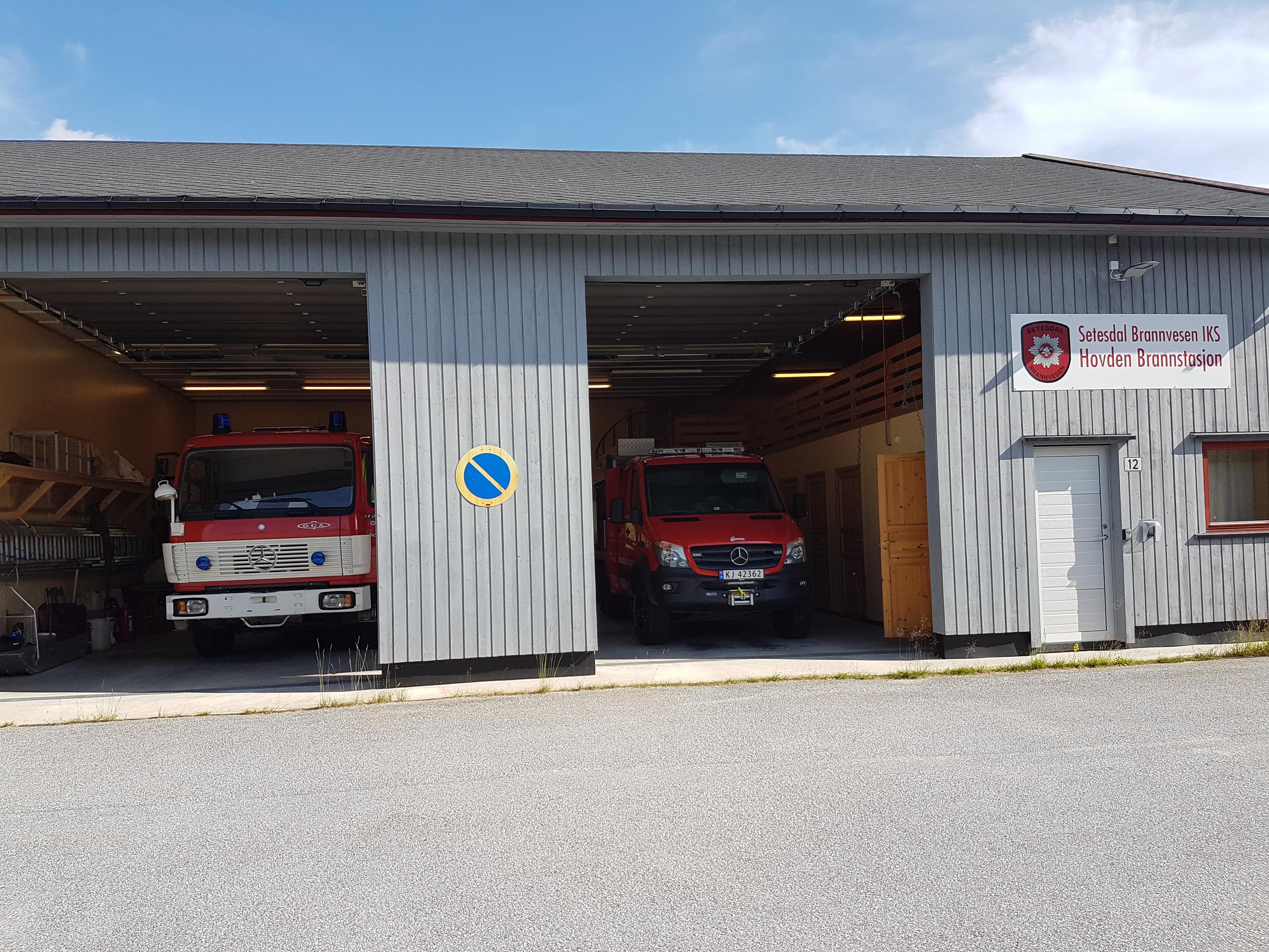 S6 Hovden brannstasjon