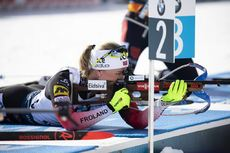 16.02.2020, Antholz, Italy (ITA):Marte Olsbu Roeiseland (NOR) - IBU World Championships Biathlon, pursuit women, Antholz (ITA). www.nordicfocus.com. © Manzoni/NordicFocus. Every downloaded picture is fee-liable.