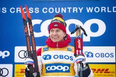 08.03.2020, Oslo, Norway (NOR):Alexander Bolshunov (RUS) - FIS world cup cross-country, mass men, Oslo (NOR). www.nordicfocus.com. © Modica/NordicFocus. Every downloaded picture is fee-liable.
