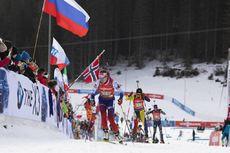 25.01.2020, Pokljuka, Slovenia (SLO):Ivona Fialkova (SVK) -  IBU world cup biathlon, single mixed relay, Pokljuka (SLO). www.nordicfocus.com. © Manzoni/NordicFocus. Every downloaded picture is fee-liable.