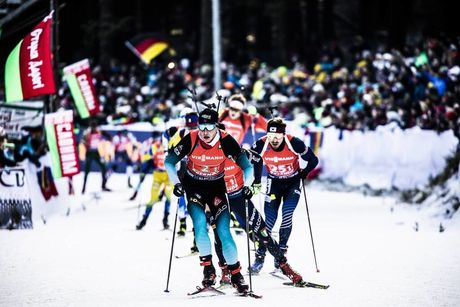 11.01.2020, Oberhof, Germany (GER):Emilien Jacquelin (FRA) -  IBU world cup biathlon, relay men, Oberhof (GER). www.nordicfocus.com. © Manzoni/NordicFocus. Every downloaded picture is fee-liable.