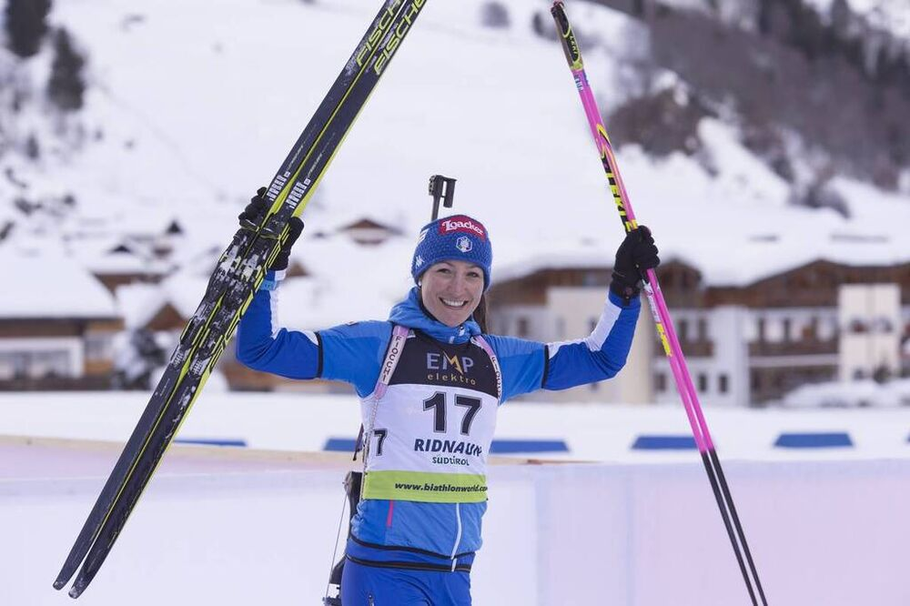 24.01.2018, Ridnaun, Italy (ITA):Alexia Runggaldier (ITA) - IBU Open European championships biathlon, individual women, Ridnaun (ITA). www.nordicfocus.com. © Manzoni/NordicFocus. Every downloaded picture is fee-liable.