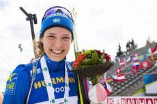 08.03.2020, Nove Mesto, Czech Republic (CZE):Hanna Oeberg (SWE) - IBU world cup biathlon, mass women, Nove Mesto (CZE). www.nordicfocus.com. © Manzoni/NordicFocus. Every downloaded picture is fee-liable.