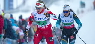 08.12.2019, Lillehammer, Norway (NOR):Helene Marie Fossesholm (NOR) - FIS world cup cross-country, 4x5km women, Lillehammer (NOR). www.nordicfocus.com. © Vianney THIBAUT/NordicFocus. Every downloaded picture is fee-liable.