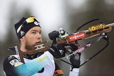 12.03.2020, Kontiolahti, Finland (FIN):Antonin Guigonnat (FRA) -  IBU World Cup Biathlon, sprint men, Kontiolahti (FIN). www.nordicfocus.com. © Manzoni/NordicFocus. Every downloaded picture is fee-liable.