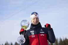 14.03.2020, Kontiolahti, Finland (FIN):Johannes Thingnes Boe (NOR) -  IBU World Cup Biathlon, cups, Kontiolahti (FIN). www.nordicfocus.com. © Manzoni/NordicFocus. Every downloaded picture is fee-liable.