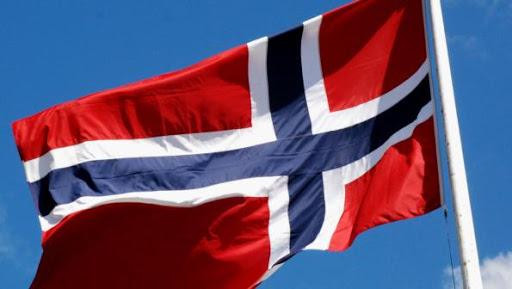 Bildde norsk flagg
