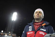 04.12.2019, Oestersund, Sweden, (SWE):Patrick Oberegger (ITA) coach Team Norway - IBU world cup biathlon, individual men, Oestersund (SWE). www.nordicfocus.com. © Manzoni/NordicFocus. Every downloaded picture is fee-liable.