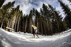 14.02.2020, Antholz, Italy (ITA):Denise Herrmann (GER) - IBU World Championships Biathlon, sprint women, Antholz (ITA). www.nordicfocus.com. © Manzoni/NordicFocus. Every downloaded picture is fee-liable.