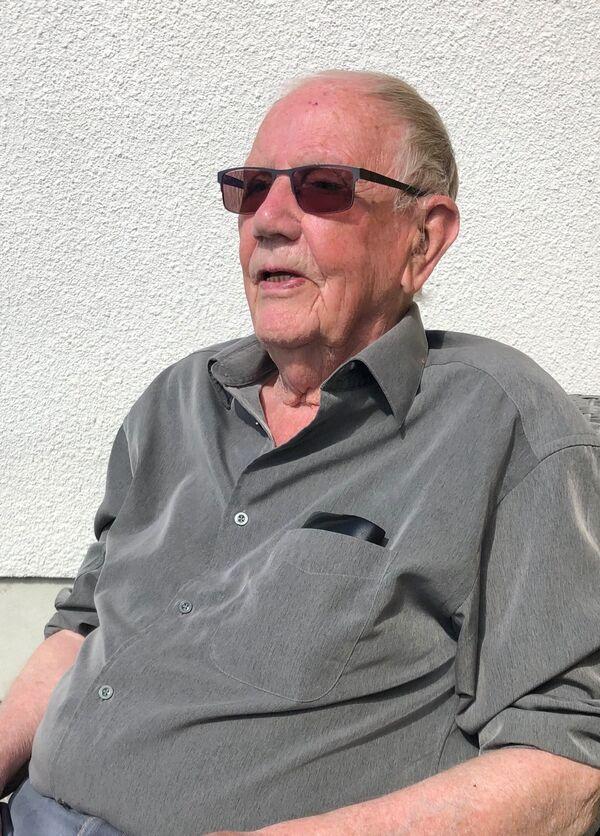 Leif Hagen forteller om frigjøringa