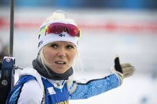 13.03.2020, Kontiolahti, Finland (FIN):Mari Eder (FIN) -  IBU world cup biathlon, sprint women, Kontiolahti (FIN). www.nordicfocus.com. © Manzoni/NordicFocus. Every downloaded picture is fee-liable.