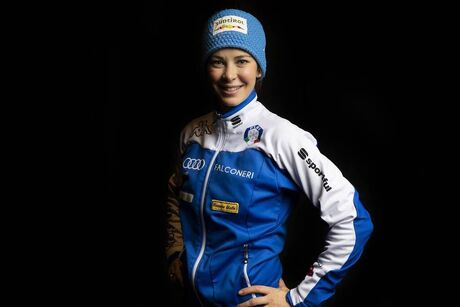 23.11.2018, Ruka, Finland, (FIN):Elena Runggaldier (ITA) - FIS world cup ski jumping, photoshooting, Ruka (FIN). www.nordicfocus.com. © NordicFocus. Every downloaded picture is fee-liable.