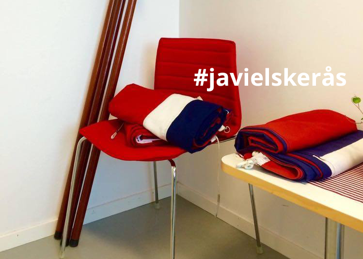 I fjor delte mange sin 17. mai med #javielskerås på Instagram og Facebook. Også i år ligger det an til en annerledes feiring. Foto: Ås kommune/Tone Vik