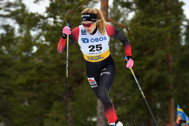 JENNIE ÖBERG drabbades av Covid-19. Nu har hon inte motivation att fortsätta satsningen på elitnivå och lägger av. Foto/rights: ROLF ZETTERBERG/kekstock.com