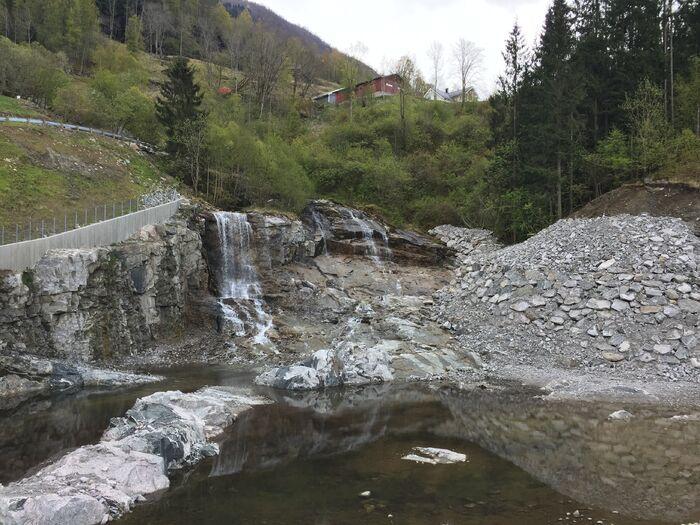 Bustadfelt Tenål - rassikring Badnadalen