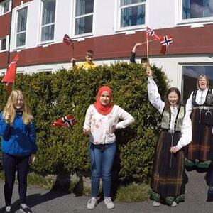 8. klasse Eivindvik skule