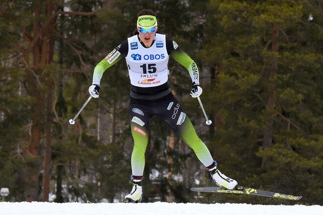 KATJA VISNAR avslutar sin karriär som gav ett VM-silver i teamsprint i Seefeld 2019 och en VM-final i Val di Fiemme 2013. Foto/rights: ROLF ZETTERBERG/kekstock.com