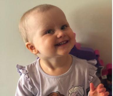 Emilie Dahl 2 år