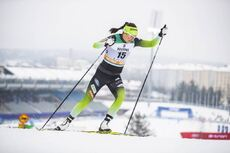 09.02.2019, Lahti Finland (FIN):Katja Visnar (SLO) - FIS world cup cross-country, individual sprint, Lahti (FIN). www.nordicfocus.com. © Modica/NordicFocus. Every downloaded picture is fee-liable.