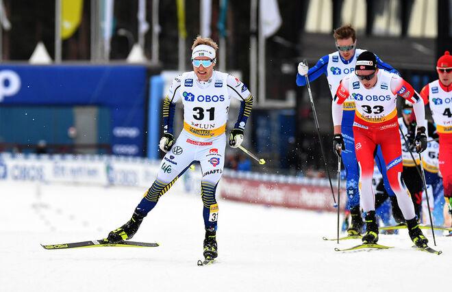 11 ÅKARE försvinner från landslagets träningsgrupper. Björn Sandström gick framåt förra vintern och är en av dom som bör känna sig besviken. Foto/rights: ROLF ZETTERBERG/kekstock.com
