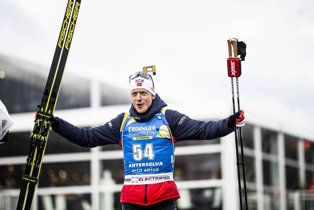 19.02.2020, Antholz, Italy (ITA):Johannes Thingnes Boe (NOR) - IBU World Championships Biathlon, individual men, Antholz (ITA). www.nordicfocus.com. © Modica/NordicFocus. Every downloaded picture is fee-liable.