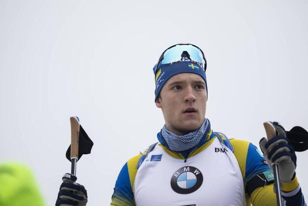 10.01.2020, Oberhof, Germany (GER):Sebastian Samuelsson (SWE) -  IBU world cup biathlon, sprint men, Oberhof (GER). www.nordicfocus.com. © Manzoni/NordicFocus. Every downloaded picture is fee-liable.