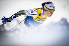 31.12.2019, Toblach, Italy (ITA):Ebba Andersson (SWE) - FIS world cup cross-country, tour de ski, 10km women, Toblach (ITA). www.nordicfocus.com. © Modica/NordicFocus. Every downloaded picture is fee-liable.