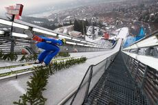 29.12.2018, Oberstdorf, Germany (GER):Jonathan Learoyd (FRA) - FIS world cup ski jumping, four hills tournament, qualification, Oberstdorf (GER). www.nordicfocus.com. © Rauschendorfer/NordicFocus. Every downloaded picture is fee-liable.