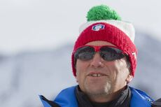 20.01.2016, Antholz, Italy (ITA):Andreas Zingerle (ITA), coach Team Italy -  IBU world cup biathlon, training, Antholz (ITA). www.nordicfocus.com. © Manzoni/NordicFocus. Every downloaded picture is fee-liable.