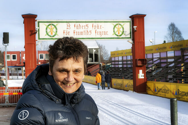 EVA-LENA FRICK slutar som VD för Vasaloppet efter sommaren. Foto: ULF PALM/Vasaloppet