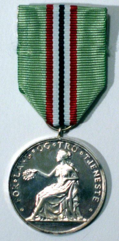 Medalje lang og tro tjeneste