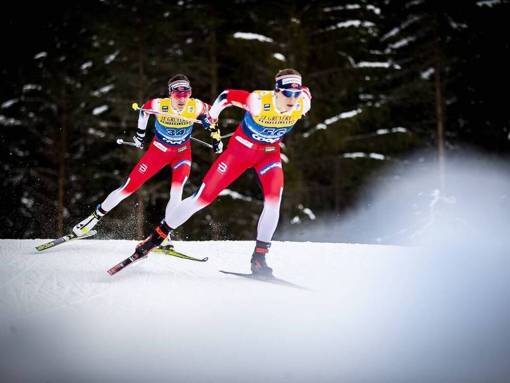31.12.2019, Toblach, Italy (ITA):Heidi Weng (NOR) - FIS world cup cross-country, tour de ski, 10km women, Toblach (ITA). www.nordicfocus.com. © Modica/NordicFocus. Every downloaded picture is fee-liable.