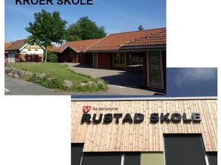 Rustad og Kroer skolekrets