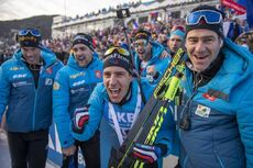 19.12.2019, Annecy-Le Grand Bornand, France (FRA):Quentin Fillon Maillet (FRA) -  IBU world cup biathlon, sprint men, Annecy-Le Grand Bornand (FRA). www.nordicfocus.com. © Thibaut/NordicFocus. Every downloaded picture is fee-liable.