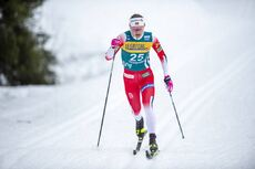 22.02.2020, Trondheim, Norway (NOR):Ingvild Flugstad Oestberg (NOR) - FIS world cup cross-country, individual sprint, Trondheim (NOR). www.nordicfocus.com. © Thibaut/NordicFocus. Every downloaded picture is fee-liable.
