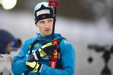 12.03.2020, Kontiolahti, Finland (FIN):Fabien Claude (FRA) -  IBU World Cup Biathlon, sprint men, Kontiolahti (FIN). www.nordicfocus.com. © Manzoni/NordicFocus. Every downloaded picture is fee-liable.