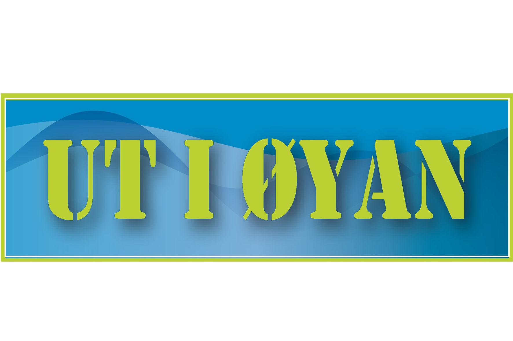 Logo UT I ØYAN JPG
