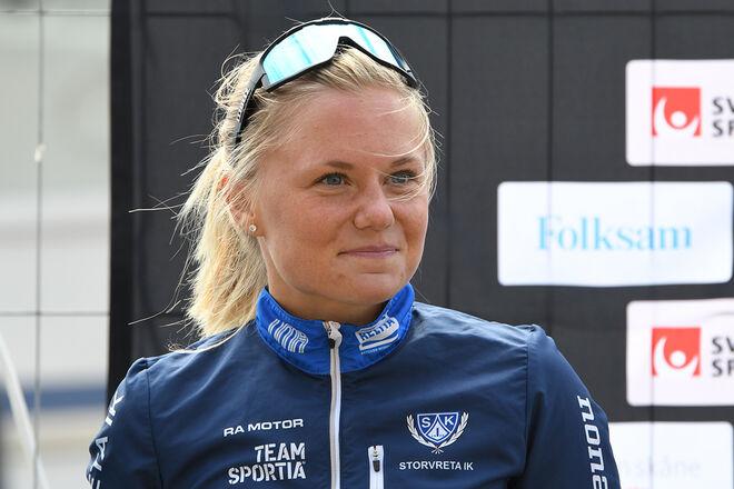 JULIA ANGELSIÖÖ kommer att åka för norska Team Parkettpartner Sjusjøen kommande säsong. Foto/rights: ROLF ZETTERBERG/kekstock.com