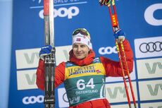 15.02.2020, Oestersund, Sweden (SWE):Simen Hegstad Krueger (NOR) - FIS world cup cross-country, 15km men, Oestersund (SWE). www.nordicfocus.com. © Vianney THIBAUT/NordicFocus. Every downloaded picture is fee-liable.
